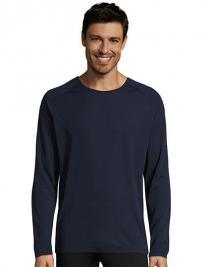 Men`s Long-Sleeve Sports T-Shirt Sporty
